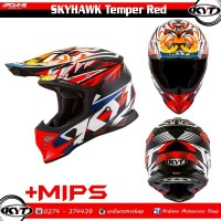 Helm KYT Skyhawk Temper Trail Cross Trabas Grasstrack Enduro