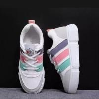 Sepatu Wanita Kets Sneakers Rainbow Merisca SP21