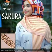 segi empat motif SAKURA by AZARA