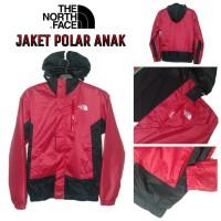 Jaket Anak Waterproof Inner Polar Fleece Kid Outdoor Gunung Dingin