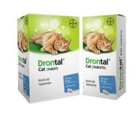 Drontal Obat Cacing Kucing Drontal Cat pertablet