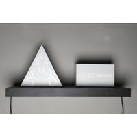Ambalan Dinding Floating Shelf ukuran 80x20 cm
