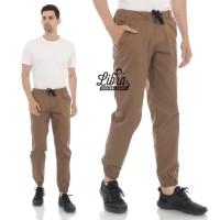Celana Jogger Coffe / Celana Olahraga / Celana Pria
