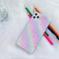 Casing OPPO F9 RAINBOW Glitter Color Soft Case