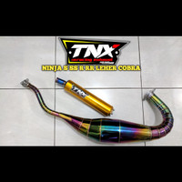 Knalpot Ninja 150S SS R RR Stainless Pelangi TNX Racing