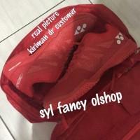 sepatu yonex aerus 3 red olahraga badminton bulutangkis LCW