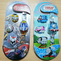 Jam Tangan Anak Mickey Mouse / Jam Tangan kepala Toy Story⠀⠀⠀