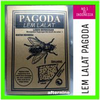 Lem Lalat / Lem Lalat Kertas / Glue Pad Pagoda Ecer & Grosir