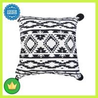 Sarung Bantal Sofa Monochrome 45x45 Cm - Hitam/putih