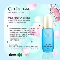 SERUM WAJAH PRIA   Celles Tiane M&Y Extract Hydra Facial Essence ASLI