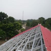 pemasangan rangka atap baja ringan dan kanopi,bongkar pasang dll