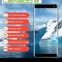 Handphone Leagoo S8 Bezzeless - biru