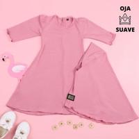 Gamis Bayi Perempuan | Gamis Bayi | Gamis Bayi 6 Bulan | Pink