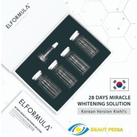 ELFORMULA 28 Days Miracle Whitening Solution Serum Wajah Element