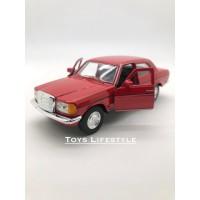 Welly Diecast - Mercedes Benz W123 Skala 1:36 (Merah)