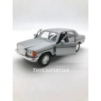 Welly Diecast - Mercedes Benz W123 Skala 1:36 (Silver)