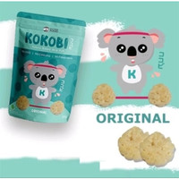 Kokobi Yummy Baked Rice Puff 80gr - Original