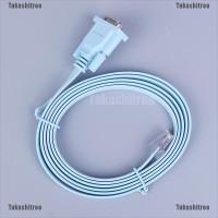 Kabel Adapter Converter RS232 Serial to RJ45 CAT5 1.8 Panjang 1.8M