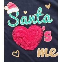 Kaos Anak Perempuan -) babyfit E5 Lengan panjang CHRISTMAS baju anak