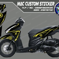 CUTTING STIKER - VARIO TECHNO 125 & VARIO 150 - LIMITED EDITION - BU
