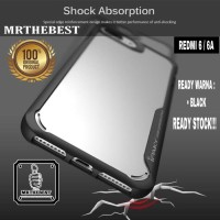 * Xiaomi Redmi 6a Ipaky Shield Hard Case Bening Soft Silikon .