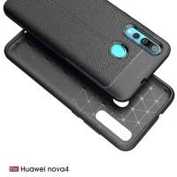 * Nokia 61 Plus X6 Auto Focus Leather Soft Shell Case .