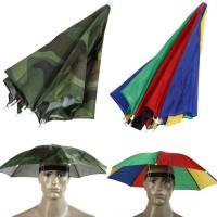 Payung topi payung kepala headband umbrella hat