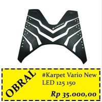 Karpet Motor New Vario 125 150 Original Honda No Plastik ONLY KARPET