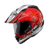 Arai Tour Cross 3 AURORA Original Helm Full Face - Red