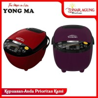 Rice Cooker YONG MA Digital 2 L YMC211 - Red / Beige