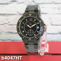 jam tangann GC WANITA DETIK TANGGAL RANTAI BLACK ROSEGOLD