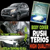 Sarung Mobil RUSH TERIOS Lama Body Cover FNEW Pelindung Bodi Rush