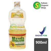 Minyak Goreng Bunga Matahari / Sunflower Cooking Oil | 900ml | Mazola