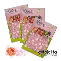 Amara Nail Sticker / Stiker Kuku Cantik Nail Art