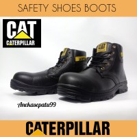 Sepatu Kerja Safety Caterpillar Boots. Sepatu Pabrik Kitchen Outdoor