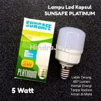 Lampu Led Kapsul 5W Merk Sunsafe Platinum