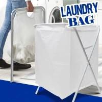 [A834] Keranjang Baju Kotor Lipat Ukuran Jumbo Foldable Laundry Basket