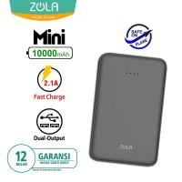Zola International Mini Powerbank 10000 mAh - Black