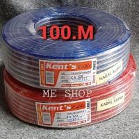 Kabel speaker 2x120 100 meter - kabel listrik2x120 100m - kabel audio