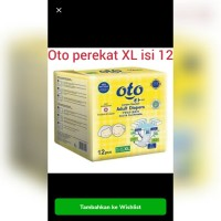 OTO DIAPERS ADULT TAPE XL12