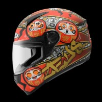 Helm Zeus ZS811 / Z811 Daruma DOFF