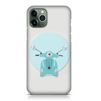 Hard Case Casing Vespa Art 12 For iPhone 11 - 11 Pro - 11 Pro Max