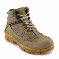 Sepatu Crocodile Armour Boots Pria Safety Tactical Touring Boot Hiking