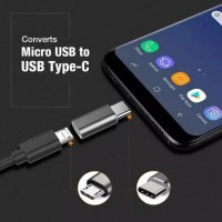 converter sambungan type C ke micro USB
