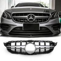 Permaisuri Grille Mercedes Benz W205 Style E63 Iridium Silver