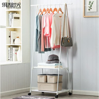 RAK BAJU PAKAIAN Triangle Stand hanger serbaguna storage model roda