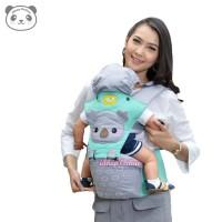 Gendongan Bayi Depan Hipseat Baby Joy Kokoa Series BJG 3029