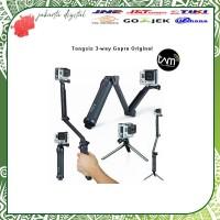 Jakarta Digital GoPro TONGSIS 3WAY GO PRO 3 WAY ORIGINAL monopod mount