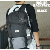 TAS BACKPACK / TAS TRAVELING - HIGHER NAVY MURAH