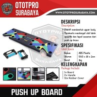 Push up Board /Papan Pushup Support/Training Fitness/Protable Push Up